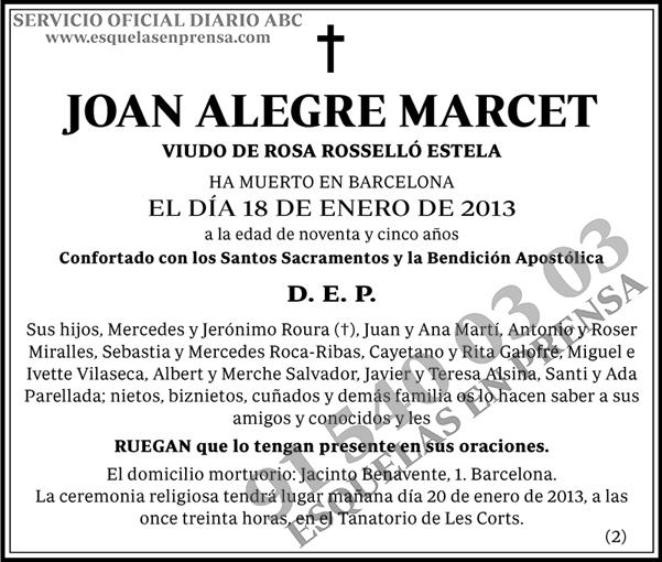Joan Alegre Marcet
